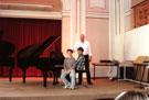 Probe zum Klassenabend, Musikschule Wien