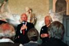 Friedrich Cerha im Einführungsgespräch mit dem Intendanten Klaus Schultz