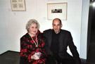 Die deutsch-amerikanische Komponistin Ruth Schonthal (1924-2006) mit Josef Mayr nach einem Klavierabend mit ihren Werken in New York