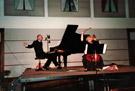 Schlussakkord - Ingrid Wagner-Kraft, Cello und Josef Mayr, Klavier